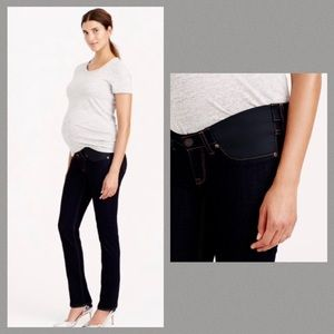 J CREW Maternity Matchstick Jeans Sz 28 Tall
